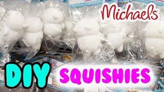 DIY SQUISHIES at Michael