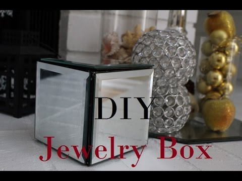 DIY JEWELRY BOX Dollar tree YouTube