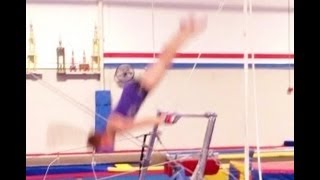 Free Hip Handstand On The Bars Tutorial With Coach Meggin!