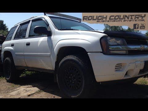 Rough Country Lift Kit & Struts DIY Install Chevy TrailBlazer GMC Envoy