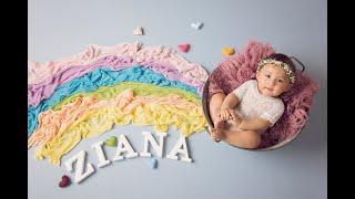 Newborn Session Video Making Of-Baby Ziana