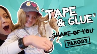 Shape of You Parody, Ed Sheeran, TAPE AND GLUE Acapella // The Holderness Family