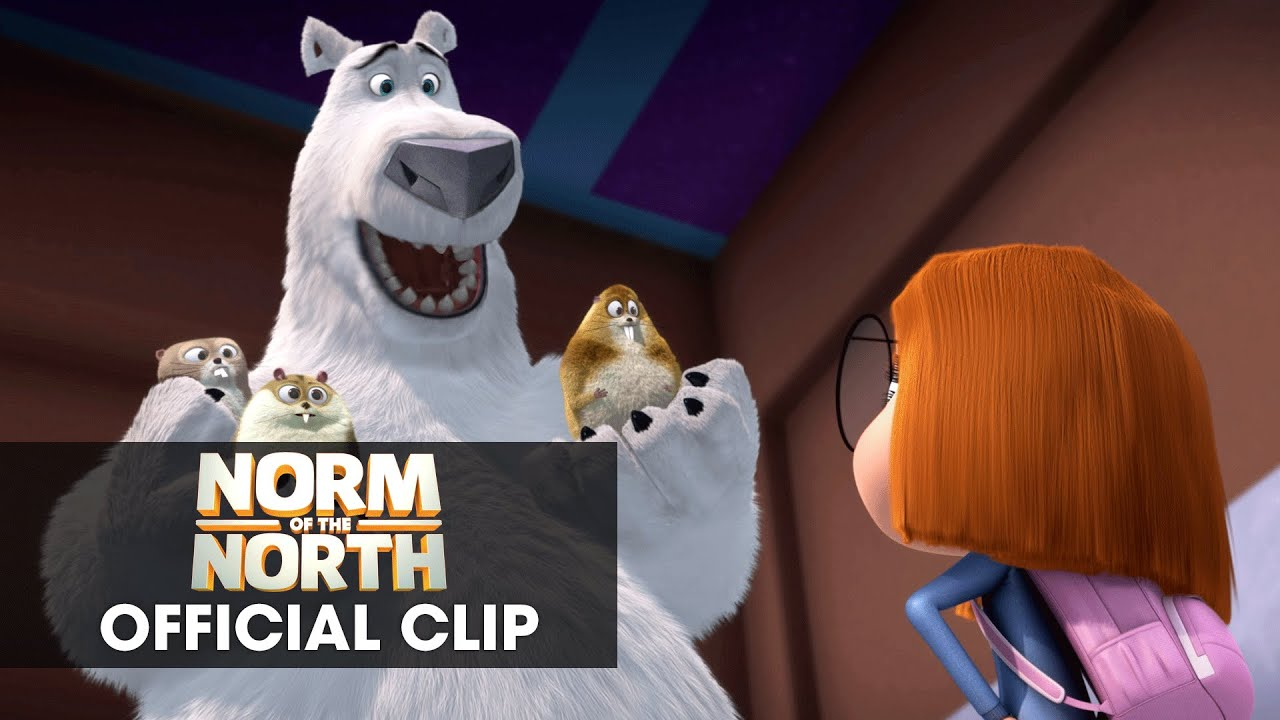 norm of the north 2016 official clip save the arctic. Black Bedroom Furniture Sets. Home Design Ideas