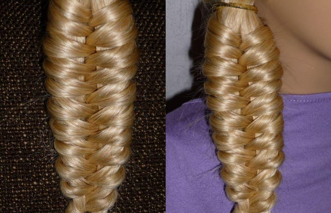 Косы для девочек в школу на длинные волосы