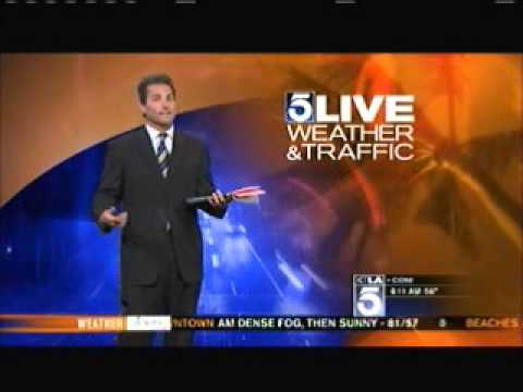 I Pranked Henry DiCarlo KTLA Los Angeles Weather Man - Hugh Janus Birthday Prank