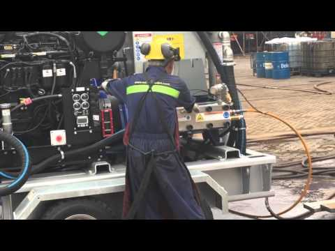 Remote Controlled Hydroblasting from Asia Waterjet & Vertidrive
