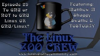 Zoo Crew 29 ::: To GNU or NOT to GNU