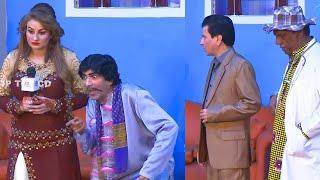 Sajan Abbas and Afreen Khan | Amanat Chan | Tariq Teddy | Punjabi Stage Drama | Mastiyan | Comedy