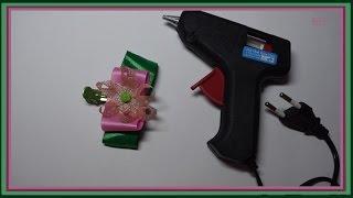 Как пользоваться клеевым пистолетом? Rukodelie Goplay(Идеи для творчества, изготовление цветов из ткани, интересное рукоделие, поделки, шедевры, мастер-класс,..., 2015-05-19T00:11:06.000Z)
