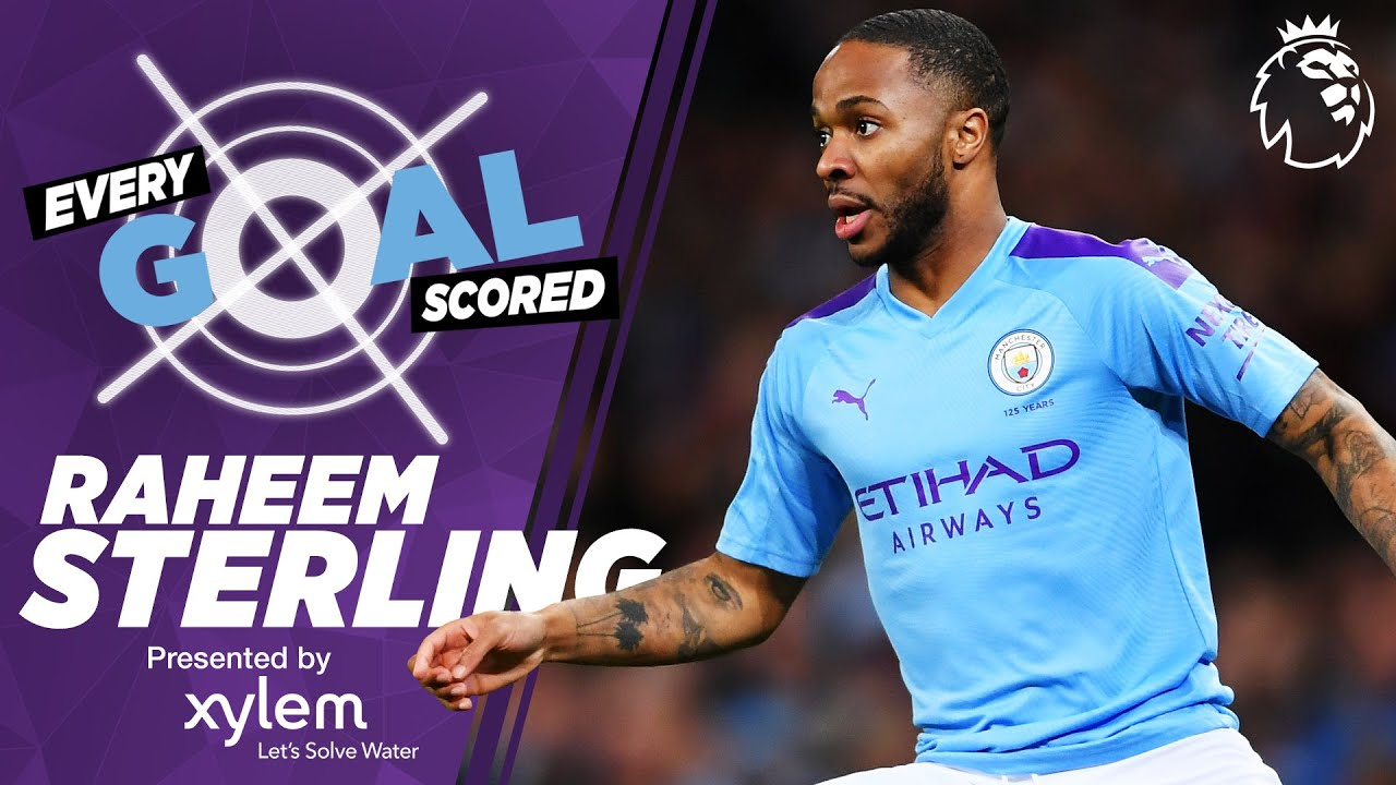 RAHEEM STERLING | RAINING GOALS | EVERY PREMIER LEAGUE GOAL SCORED | MAN CITY
