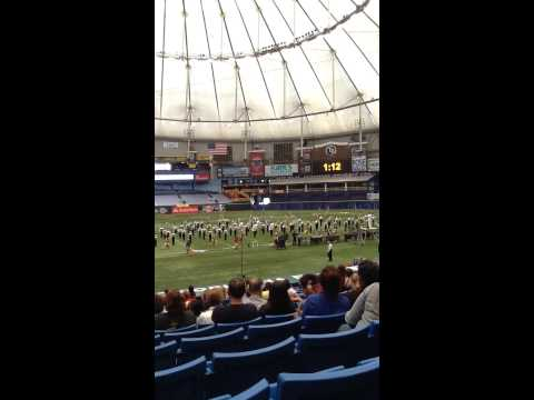 Fleming Island High School FIHS Florida Marching Band Championships 2013