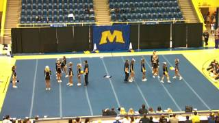 Northern Kentucky University Cheerleading 2011
