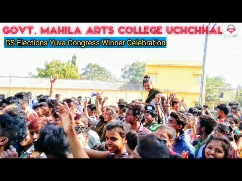Panja Vala Te Nache Ra   Govt  Mahila  Arts College Uchchhal   GS Election Celebration