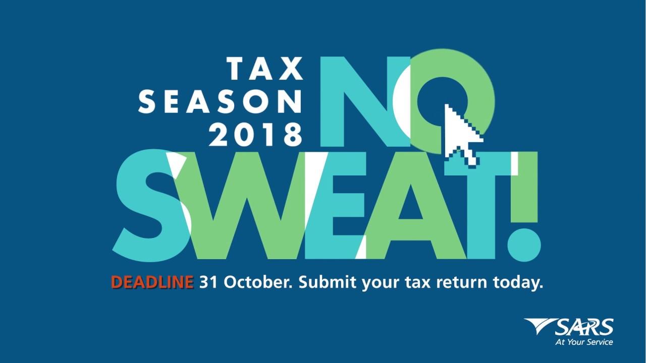 Sars Tax Season 2018 Deadline Reminder Youtube