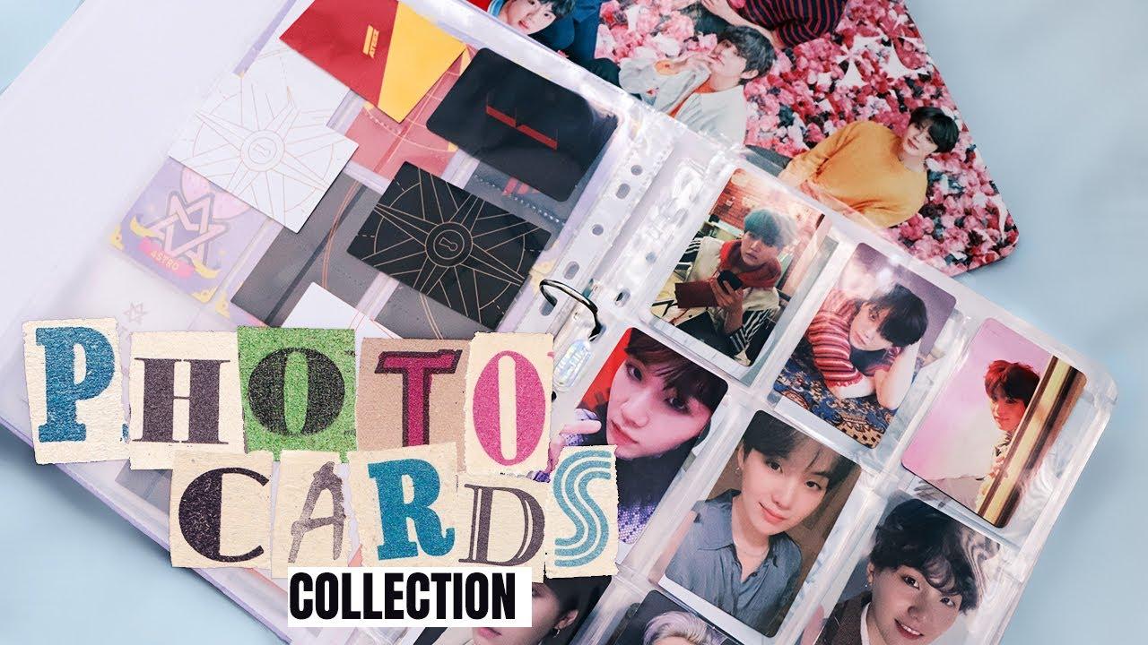 MY K-POP PHOTOCARDS COLLECTION   Porządkuję swoje karty