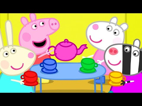 Kids TV and Stories | Dens - the Tea Party | Cartoons for Children