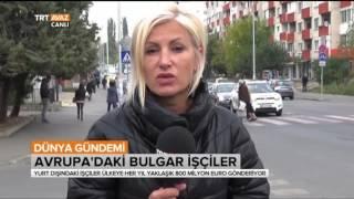 Avrupa'daki Bulgar İşçilerin Durumu -  Dünya Gündemi - TRT Avaz