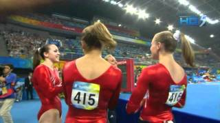 Nastia Liukin - Uneven Bars - 2008 Olympics Team Final