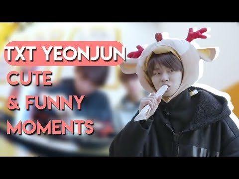 TXT YEONJUN CUTE & FUNNY MOMENTS [ENG SUB]