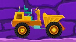 Машинки мультфильмы развивающие. Мультик про завод тракторов. Собираем тракторы вместе.