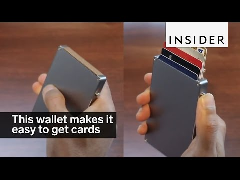 This Pop-up Wallet Makes It Super Easy To Grab The Right Card