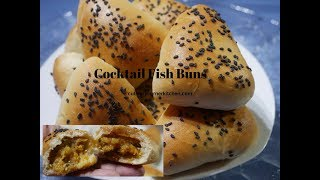 Cocktail Fish Buns from Scratch
