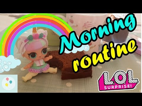 La MORNING ROUTINE pucciosissima di LOL UNICORN! | Scarta Regali