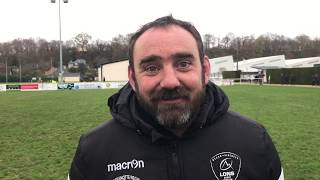 Christophe Barraqué, entraîneur de Lons, après la défaite face à Romagnat 8-0