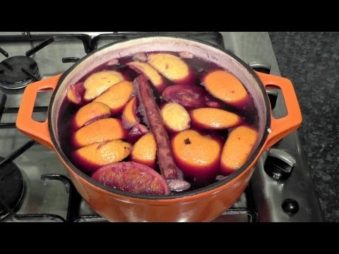 How to cook homemade mulled wine