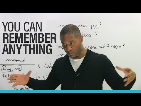 REMEMBER ANYTHING with the Memory Palace Method