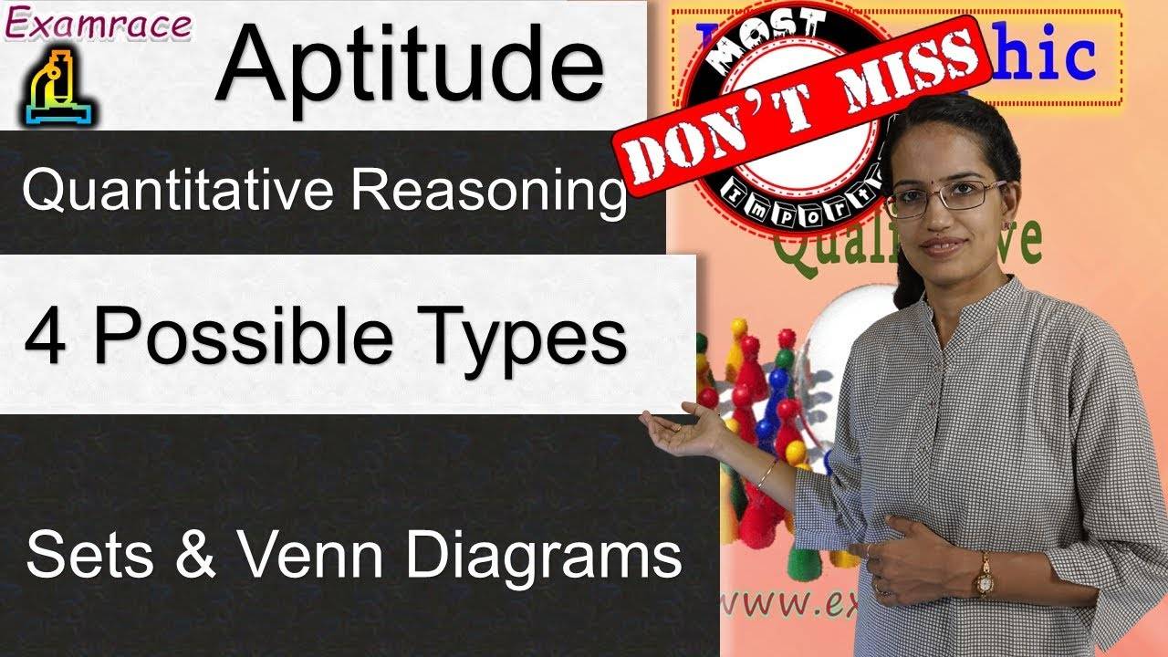 Sets Venn Diagrams 4 Possible Types Of Questions Examrace
