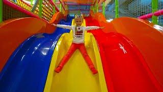 Развлекательный центр для Детей с горками и батутами | Indoor Playground for kids