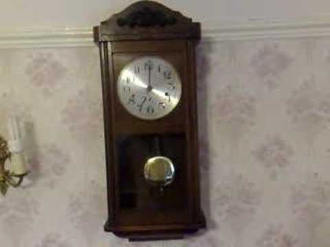 KIENZLE WESTMINSTER CHIME WALL CLOCK