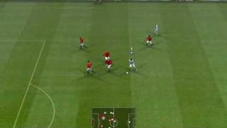 Real Madrid - Manchester United - PES 2009 PC - Top Player Difficulty