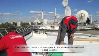 монтаж тпо мембраны(, 2012-03-03T13:18:30.000Z)
