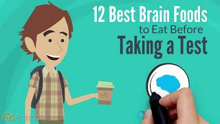 12 Best Brain Foods to Eat Before Taking a Test