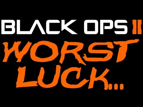 Worst luck ever...fuck me right? (Black Ops 2 Gameplay)