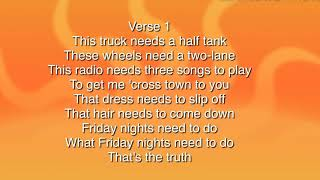 Luke Bryan —knockin boots lyrics mp3