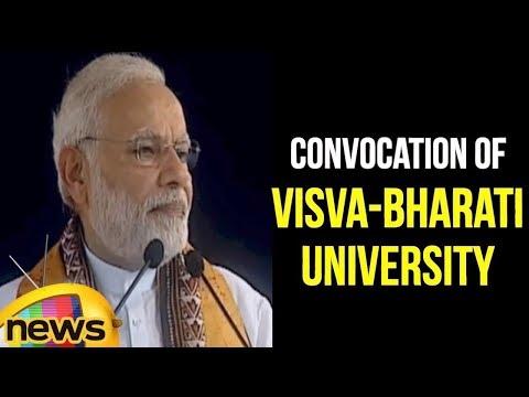 PM Narendra Modi Attends Convocation of Visva-Bharati University in West Bengal | Mango News