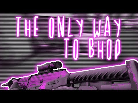 BHOP TUTORIAL video + HANDCAM | 64-tick mousecam bhop CSGO MM chain (how to bhop in matchmaking)