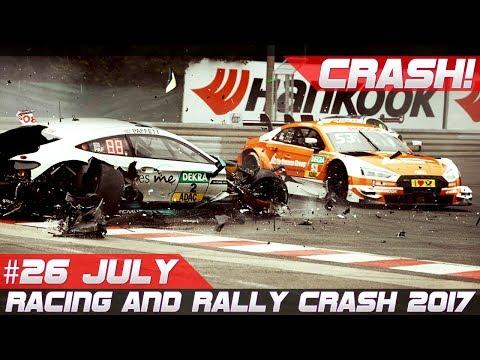 Racing and Rally Crash Compilation Week 26 July 2017