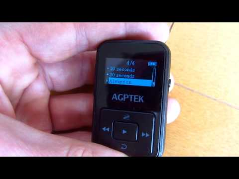 Review: APGTEK  A12 8GB MP3-Player (english)