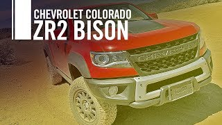 2019 Chevrolet Colorado ZR2 Bison Off Road Review Test Drive