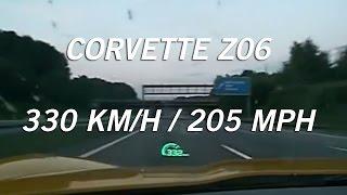 The BM - 2008 Corvette Z06 - Top Speed - Autobahn - 330 km/h | VLOG 004