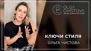 Как создать индивидуальный образ Ключи стиля Ольга Чистова