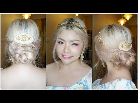 Hair Tutorial: สอนเกล้าผมฟรุ้งฟริ้งสไตล์เจ้าหญิง