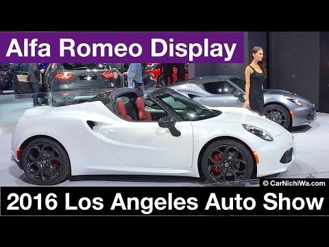 Alfa Romeo Display | 2016 Los Angeles Auto Show | © CarNichiWa.com