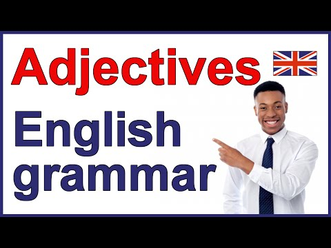 Adjectives in English grammar | Position in a sentence
