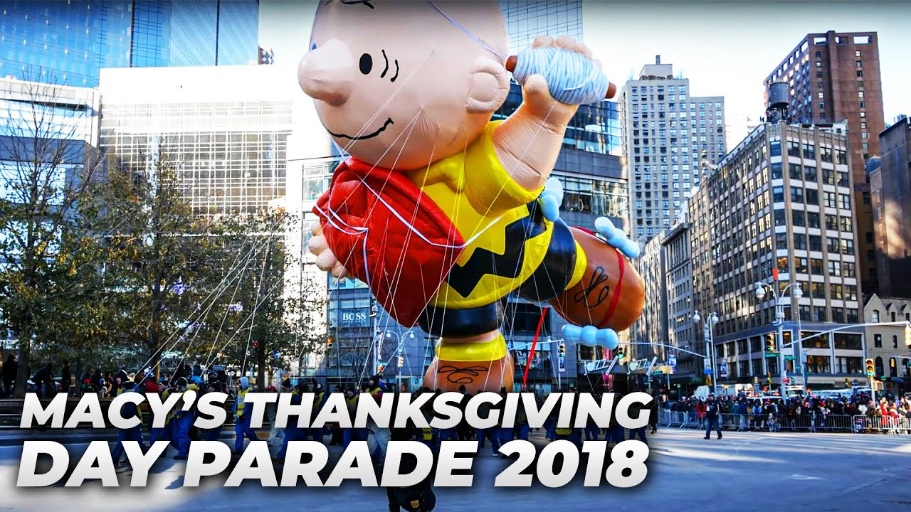 Download ⁴ᴷ Full Macy's Thanksgiving Parade 2018 from Columbus Circle