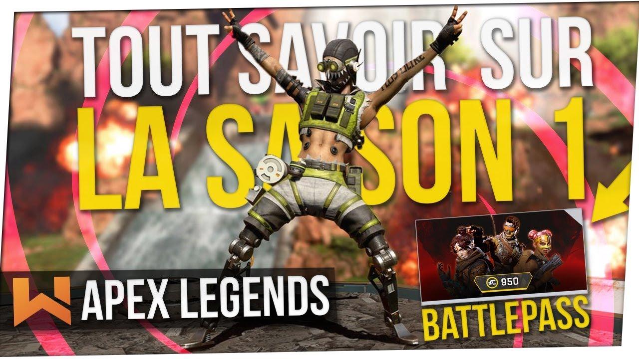Apex Legends : Tout Savoir sur la Saison 1 & le Passe de Combat !